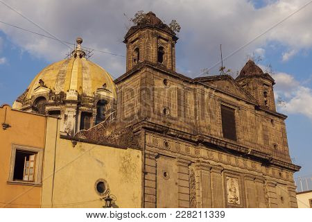 Our Lady Of Loreto Church In Mexico City. Mexico City, Mexico.