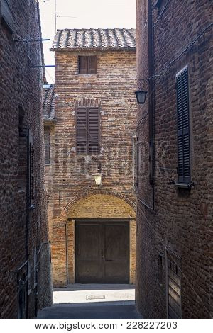 Historic Buildings Of Citta Della Pieve, Perugia, Umbria, Italy