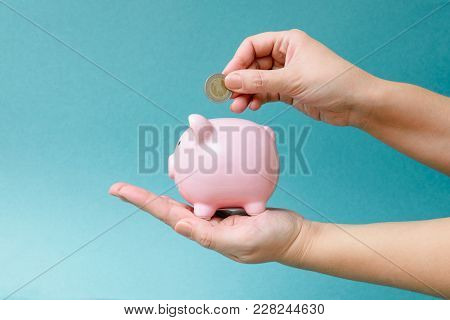 Bright Photo On The Topic Of Money, Finance, Banking Services