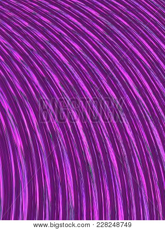 High Resolution Fractal Background With Vibrant Purple Color Radial Lines