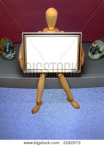 Manikin With Frame /E