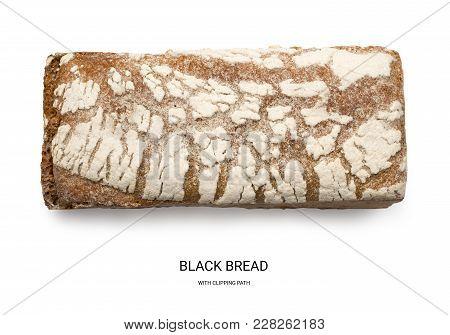 Rectangular Black Bread