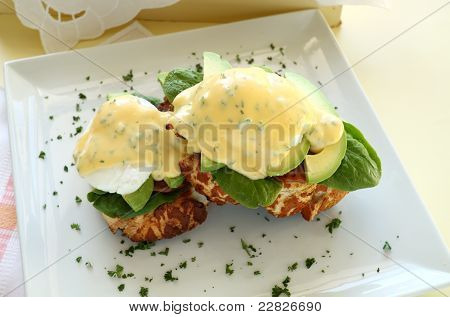 Egg And Bacon Benedict