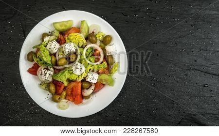 Greek Salad Or Garden Salad