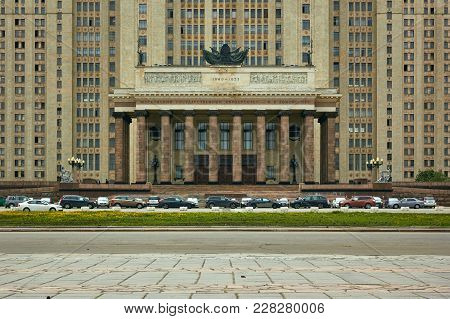 Moscow State University, Moscow