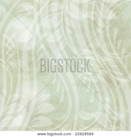 Vintage card with abstract flowers for your design