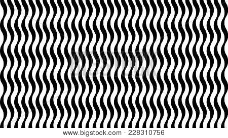 Abstract, Modern, Trendy, Fashionable Background With Geometric Wavy Texture. 1920 X 1080 Px. For In