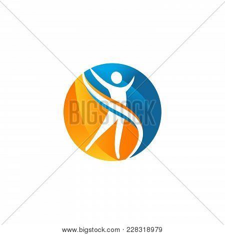 Beutiful Vector Logo Illustrator Concept,  Health Logo, Health Logo. Healthy Logo. Beauty Salon Logo