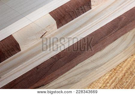 Boards Of Valuable Breeds Of A Tree .woodworking