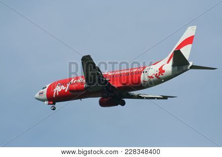 Hs-aaq Boeing 737-300 Of Thaiairasia
