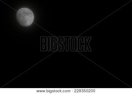 Moon Background The Moon Is An Astronomical Body That Orbits Planet Earth, Being Earth's Only Perman