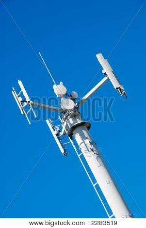 Telecommunications Tower Blue Sky