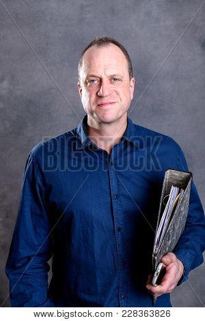 Businessman With Folder