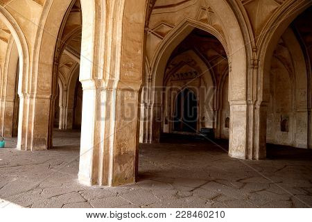 The Ibrahim Rauza Complex Rauza - `grave` Which Was Under Construction Till 1627, Includes Ibrahim A