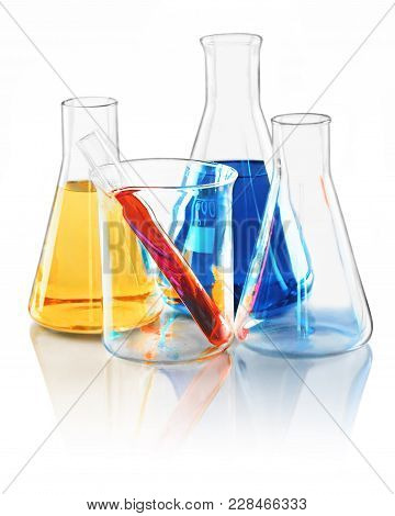 Beaker Chemistry Laboratory Laboratory Equipment Biology Lab Equipment Flasks
