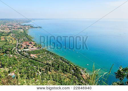 Coast of Garda Lake