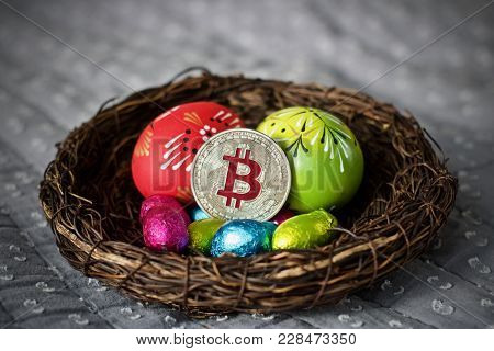 Easter Bitcoin Coin