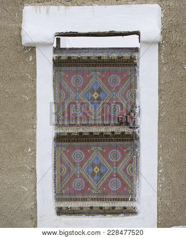 Traditional Wooden Door Of Saudi Arabia Houses