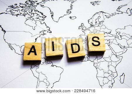 Hiv Abbreviation Or Acronym For Medical Concept, Laboratory Detection Or Diagnosis Of Human Immunode