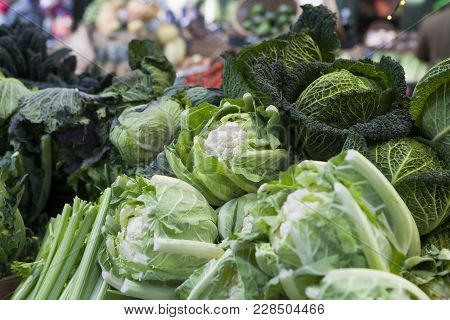 The Cauliflower On The Market For Sale