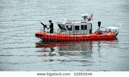 US Coast Guard Patrol