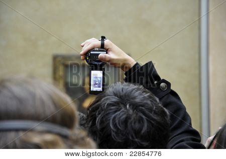 Picture In Picture, Art Mona Lisa.