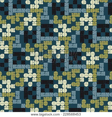 Bangkok Seamless Pattern. Autentic Artistic Design For Background.