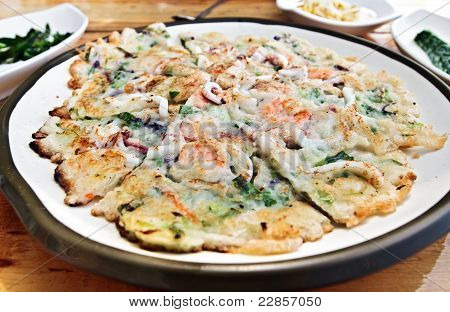 Korean Style Pizza