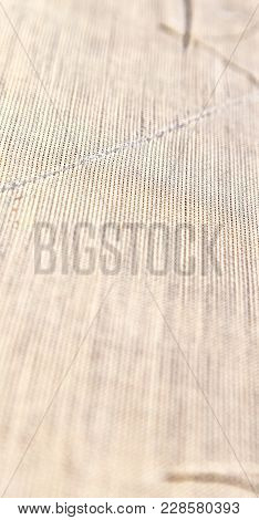 Texture Background Of A Cotton  Surface