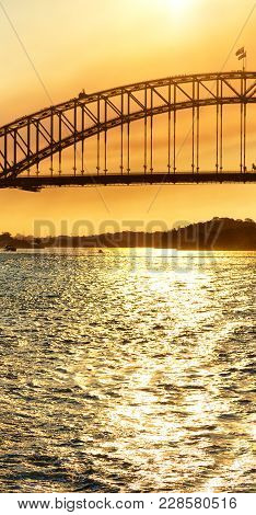 The Bay Of Sydney And The Bridge
