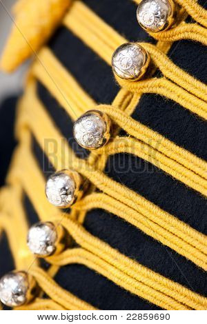 Mounted Horsegard; Uniform Details