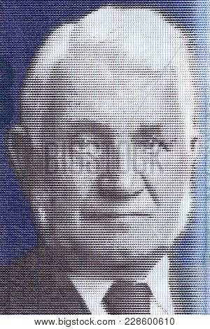 Sir William Arrol Portrait From Scottish Money