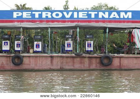 Gasoline Barge Vietnam