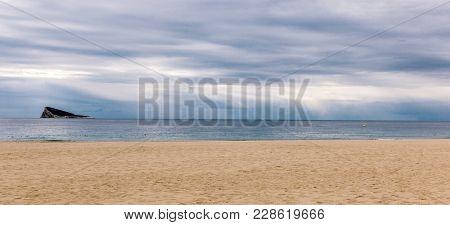 Benidorm Island In Mediterranean Sea, Benidorm, Spain