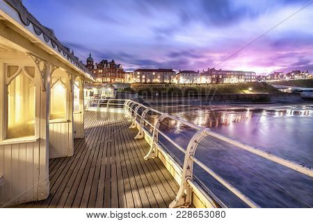 Cromer Pier Victorian Shelters - One Of The Greatest Piers In England Jutting Out From Cromer Town I