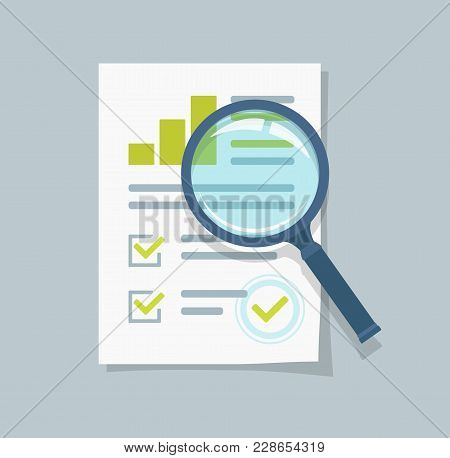 Sales Growth Report, Analytics, Investigation, Boosted Sales Graph Analytics Data, Research Icon Vec