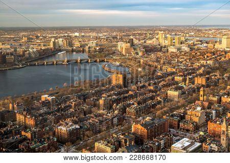 Downtown Boston Massachusetts