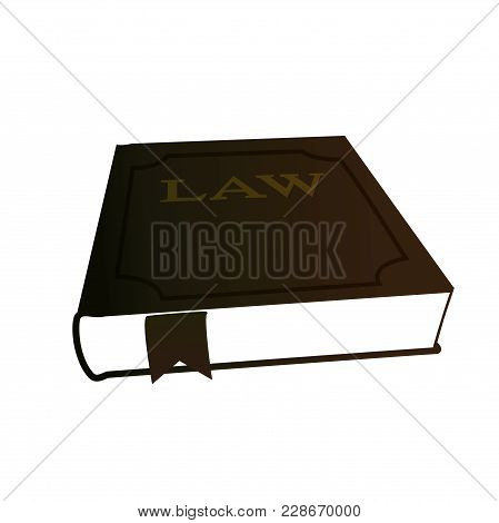 Design Element Symbol Book Legal Icon Law Theme01