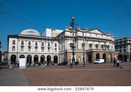 Il Teatro alla Scala di Milano, Italia