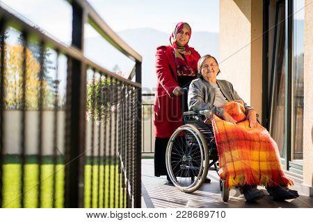 Elderly people need care