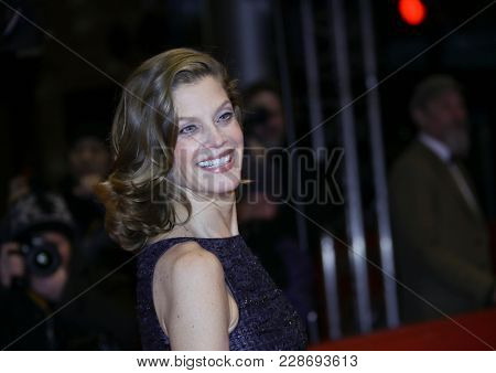Marie Baeumer attends the closing ceremony during the 68th Film Festival Berlin at Berlinale Palast on February 24, 2018 in Berlin, Germany.