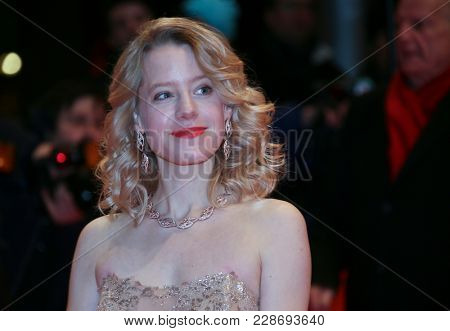 Julia Zange attends the closing ceremony during the 68th Berlinale International Film Festival Berlin at Berlinale Palast on February 24, 2018 in Berlin, Germany.
