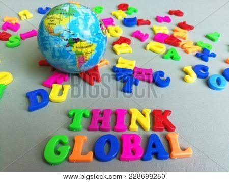 Think global concept