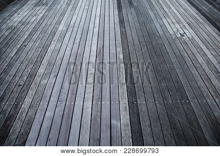 Wood deck background, with dimension.
