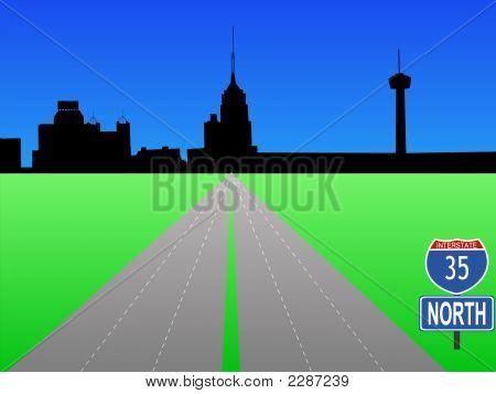 Interstate To San Antonio
