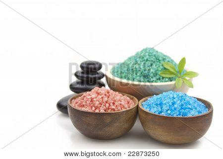 Differents Spa Salts