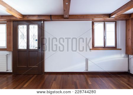 Modern room in a coutry house