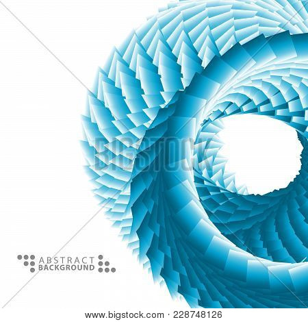 Geometric Colorful Abstract Background Template Design With Textured 3 D Like Object
