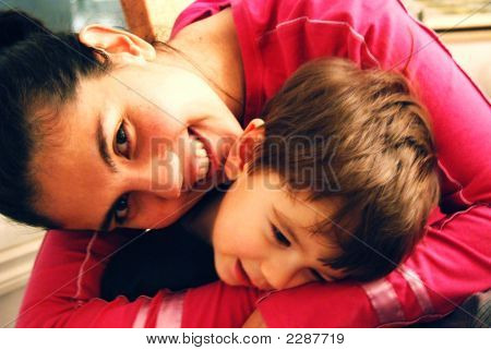 Hugging Child