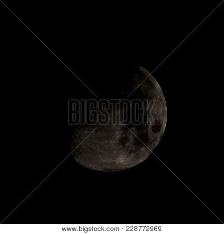 High Contrast Moon